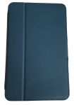 Verizon Folio Case and Screen protector for Ellipsis 8 - Navy Blue