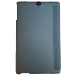 Verizon Folio Case & Tempered Glass Bundle for Ellipsis 8 HD - Phoenix Blue