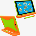 Verizon GizmoTab Kids Case - Orange/Green