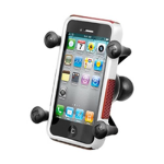 Ram Mount Cradle Holder for Universal X-Grip Cellphone/iPhone with 1-Inch Ball - Black
