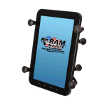 RAM Mounts Universal X-Grip Holder with 1