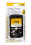 Otterbox Impact Skin Case for BlackBerry Curve 8350i - Black