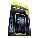 OtterBox Impact Series Silicone Case for BlackBerry 9105 Pearl - Black