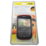 OtterBox - Commuter Case for BlackBerry 8500, 8520, 8530, 9300, 9330 Curve 2 - Red/Black