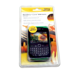 OtterBox - Commuter Case for BlackBerry Curve 8500, 8530, 9330 - Jade Green