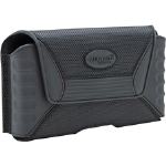 RuggedQX XXL Horizontal Pouch w/ Polycarbonate Clip for HTC EVO 4G LTE - Black