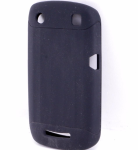 Verizon Silicone case for Blackberry Curve 9370 - Black