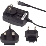 OEM Verizon Blackberry Micro USB Travel Charger with International Adapters - World Charger