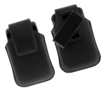 OEM BlackBerry Storm 9530 Synthetic Swivel Holster HDW-19819-001 (Black) (Bulk Packaging)