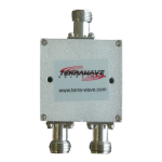 TerraWave - 2.4 GHz 2-Way Splitter with N Jack
