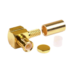 RF Industries - MCX Right Angle Male Connector
