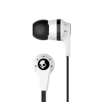 Skullcandy Ink'd 2.0 Stereo Earbuds with Mic - White/Black
