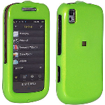 Amzer Snap-On Case for Samsung Instinct s30 SPH-M810 - Neon Green