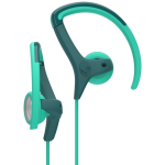 Skullcandy Chops Earbuds in Teal/Acid
