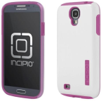Incipio DualPro SHINE Case for Samsung Galaxy S4 - White/Pink