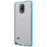 Incipio Octane Case for Samsung Galaxy Note 4 - Frost/Neon Blue