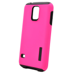 Incipio DualPro Shock absorbing Case for Samsung Galaxy S5 - Pink/Black
