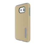 Incipio DualPro Shock-absorbing Case for Samsung Galaxy S6 - Champagne/Grey