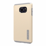 Incipio DualPro Shock-absorbing Case for Samsung Galaxy S6 Edge Plus - Champagne Gold
