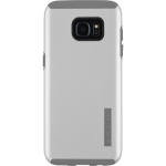 Incipio DualPro Shock-Absorbing Case for Samsung Galaxy S7 Edge (Iridescent Grey/Grey)