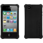 BALLISTIC LS Case with interchangeablecorner bumpers.  Black.