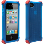 BALLISTIC LS Case with interchangeablecorner bumpers.  Blue.