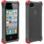 BALLISTIC LS Case with interchangeablecorner bumpers.  Smoke.