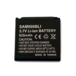 Alltel Battery for Samsung M800 Instinct, Delve, Finesse, Freeform, Reclaim, R350, R351, R800, R810, R355, M560