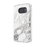 Incipio Design Series Case for Samsung Galaxy S7 - White/Silver Marble