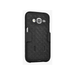 Verizon Shell Holster Case Combo with Kickstand for Samsung Galaxy Core Prime - Black