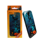 Unlimited Cellular Hybrid Fit On Protector Case for Samsung Galaxy S4 (Halloween Series)