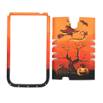 Unlimited Cellular Rocker Snap-On Case for Samsung Galaxy S4 (Pumpkin Halloween Series)