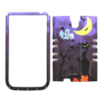 Unlimited Cellular Rocker Snap-On Case for Samsung Galaxy S4 (Cat Halloween Series)