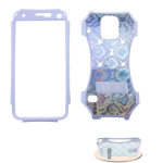 Kicker Series Snap-On Protector Case for Samsung Galaxy S5 (Fabric Design)