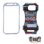 Kicker Snap-On Protector Case for Samsung Galaxy S6 (Crystal Design/Tribal)