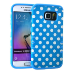 Rocker Series Slim Protector Case for Samsung Galaxy S6 (Dots)
