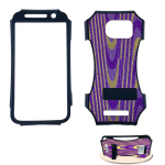Kicker Snap-On Protector Case for Samsung Galaxy S6 Edge (Fabric Design)