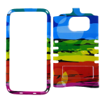 Rocker Snap-On Case for Samsung S7-Colorful Design