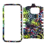 Rocker Snap-On Case for Samsung Galaxy S7-Flowers Design
