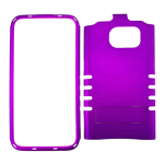 Rocker Series Snap-On Protector Case for Samsung Galaxy S7 Edge (Rubberized Honey Dark Purple)