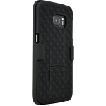 Verizon Shell Holster Case Combo with Kickstand for Samsung Galaxy S7 - Black