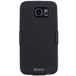 SAMSUNG GALAXY S6 TEKYA HOLSTER SHIELD COMBO - BLACK