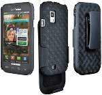 Samsung i500 Fascinate Shell Holster Combo (Black) (Bulk Packaging)