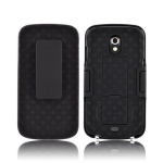 Verizon Shell Holster Case with Kickstand for Samsung Galaxy Nexus i515 - Black