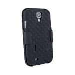 Verizon Shell Case & Holster for Samsung Galaxy S4 (Black)