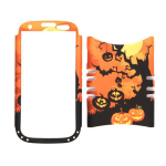 Unlimited Cellular Rocker Snap-On Case for Samsung Galaxy S3 (Owls/Pumpkin Halloween Series)