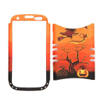 Unlimited Cellular Rocker Snap-On Case for Samsung Galaxy S3 (Pumpkin Halloween Series)