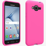 Verizon Matte Silicone Case for Samsung Galaxy J3 V - Pink