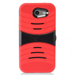 SAMSUNG GALAXY J3 EMERGE/PRIME U-STAND CASE-RED/BLACK