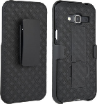 Verizon Shell Case Kickstand Belt Clip Holster for Samsung Galaxy J3 V